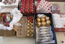 Christmas - Storage and Organization / by Amy Wilson
