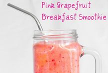 I'll drink to that / Smoothies, shakes, non-alcoholic and alcoholic beverages / by Steph Krause