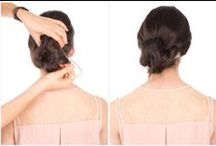 Tutorials for Bun Hairstyles