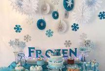 Disney Frozen Party / Disney Frozen Party Ideas - Food, Games, Fun!