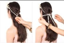 Tutorials for Headstrap Hairstyles / Discover how simple and useful headstraps are for shaping your hair in many ways.