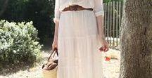 Skirts:Maxi Skirt