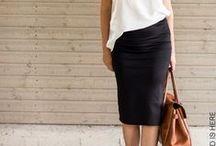 Skirts:Pencil Skirt