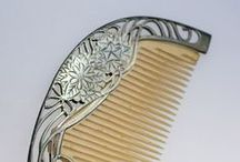 Historical Hair Accesories / Workmanship and natural materials that takes my breath away.