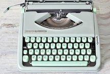 Typewriter Love / by Melanie @ Dejlige Days
