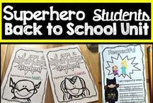Superheroes in the Classroom / Create a beginning of the year theme or a classroom theme using Superheroes!