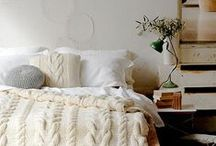 Bedroom Design / Creating the perfect bedroom design with a place that is light, bright and relaxing.