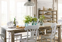 Dining Room ideas / ~Somewhere between farmhouse style and cottage by-the-sea~ / by Jennifer Carey