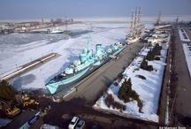 Zimowa Gdynia z lotu ptaka / Bird's eye view of winter Gdynia