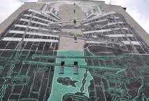 Festival Traffic Design w Gdyni / Traffic Design Festival in Gdynia / Podczas Festiwalu Traffic Design wybrane gdyńskie ulice, wiadukty i stacje SKM poddawane są artystycznej metamorfozie. Inicjatorem wydarzenia jest Stowarzyszenie Traffic Design, które powstało z połączenia umiejętności i zainteresowań streetartowców, grafików, architektów, urbanistów, malarzy, a także działaczy społecznych. Cel - polepszyć estetykę przestrzeni publicznych.
