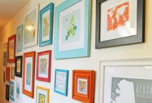 Gallery Wall Ideas / by Bonnie Michaels