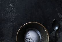 food: dark and moody / food and drinks styled on a mostly dark background / by STILL