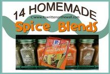 Homemade Seasonings/Condiments/Powder Mixes