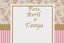 Para Avril y Tany / Cosas para mis hijas