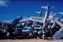Aircraft Boneyards / A board about Aircraft Graveyard and abandoned Planes and Jets around the world.
