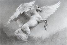 Fantasie Pferde/Horses