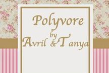Polyvore by Avril and Tanya Suar / My daugther style of Polyvore