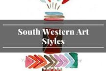 South Western Art Styles / Inspiration for south western art styles.