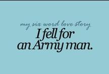 My Life as an Army Wife.  Hooah! / by Rachel Metcalf