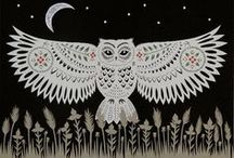 Owl Moon / Art and illustration exploring the wonders of the OWL