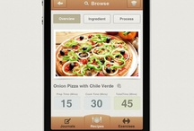 Food Mobile Apps / Collection of mobile & tablet pc apps for cooking, meals, foods and drinks.