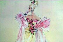Art~Illustration & Design / Design , Colors, fabrics all Choices.  Beautiful Art. It comes from someone's thought out concept. The Pins are just those that I appreciate. / by DL Fox