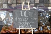 Yum! - Crockpot/Freezer Meals / by Rachel Metcalf