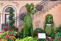 Disney~Topiary & T.Kinkade