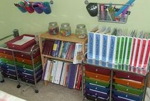Homeschool Organization / Keeping clutter under control and nifty ideas to make things run smoother