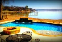 Geometric Pool Designs by Puryear Custom Pools / Geometric Pools Design Samples by Dallas Fort Worth Swimming Pool builder, Puryear Custom Pools http://www.PuryearPools.com