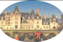 """America's Castle: """"The Biltmore"""" / The Biltmore Estate, Ashville, North Carolina"""