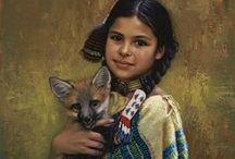 Art of Western & Native American Artists / Primarily Art by: Alfred Rodriguez & Karen Noles