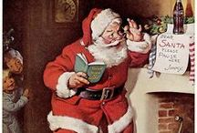 """Artist Illustrator ~  Haddon Sunbloom / Illustrator for Gerber Baby Food, Quaker Oats, and Aunt Jermima's Pancakes. The same Artist that created the """"Classic Coca-Cola Santa Claus."""""""