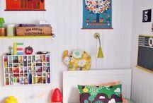 Koti / Ihania ideoita kotiin, lapsille ja aikuisille.