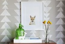 Walls:Paint, Wallpaper, and More / by Christina Deras