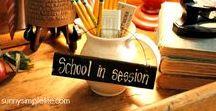 Back to School / Back to school organization, tips, back to school decorating + backtoschool + school + September