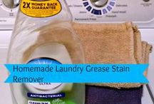 Laundry Tips and laundry rooms / Laundry cleaning tips, laundry rooms / by Sunny Simple Life - simple living everyday
