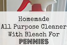 House Cleaning / Tips and tutorials for keeping house and cleaning your house.