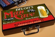 Man Cave Gifts / Help to create the perfect Man Cave with these must have gift items.