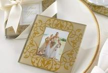 Gold Wedding Scheme / Gold wedding accessories and décor to compliment a gold wedding theme! #goldweddingtheme