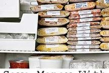 Recipes - Freezer Cooking / freezer cooking, make ahead meals, once a month cooking