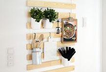 DIY Déco Maison / Quelques idées de Do It Yourself pour décorer la maison à moindre coût tout en offrant une deuxième vie à certains objets.