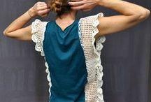Crochet sweaters & tops