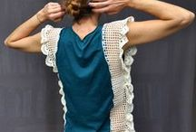 Crochet sweaters & tops / by Sophie Coelho