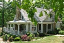 Cottages and Cottage Decor / Cottage decor, cottage kitchens, cottage homes and cottage colors