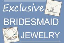 Bridesmaid Necklaces & Bracelets / Personalized jewelry exclusively for your bridesmaids!