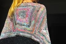 Crochet ponchos & capes