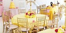 """Beauty and The Beast Birthday Party / We can't wait to customize our """"Be Our Guest"""" Birthday Party!"""