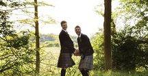 Dignan Street Church: Organic Greenery Gay Wedding Styled Shoot