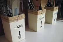 """KITCHEN komforts"" / Great ideas for the kitchen, from Bakewear, Organization, Storage, Utensils etc"